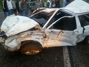 Acidente foi por volta das 5h30, em Nova Laranjeiras (Foto: PRF/ Digulgação)
