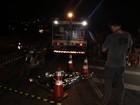 Mulher morre atropelada por moto na Rodovia do Contorno, no ES