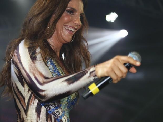 Ivete Sangalo em show em Salvador, na Bahia (Foto: Fred Pontes/ Divulgação)