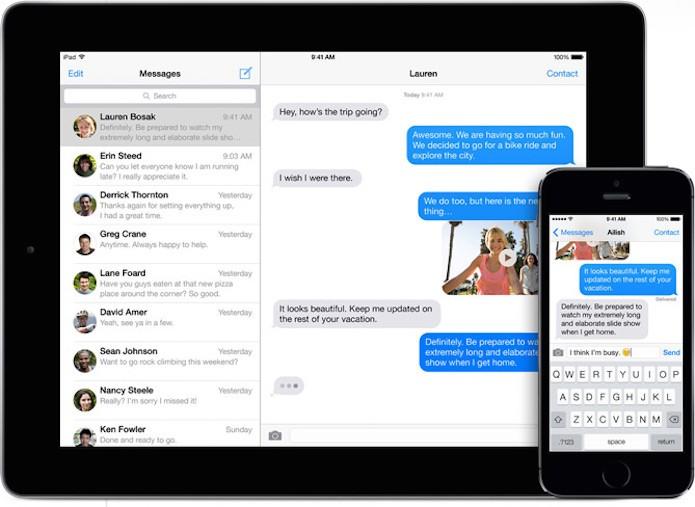 Como manter mensagens por tempo determinado no histórico do iOS 8? (Foto: Divulgação/Apple)