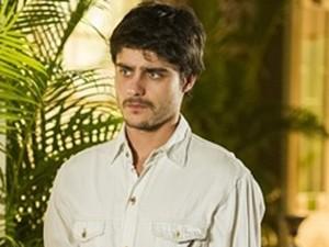 """O ator Guilherme Leican interpretou o personagem Laerte na segunda fase da novela """"Em família"""" (Foto: Cynthia Salles / Globo)"""