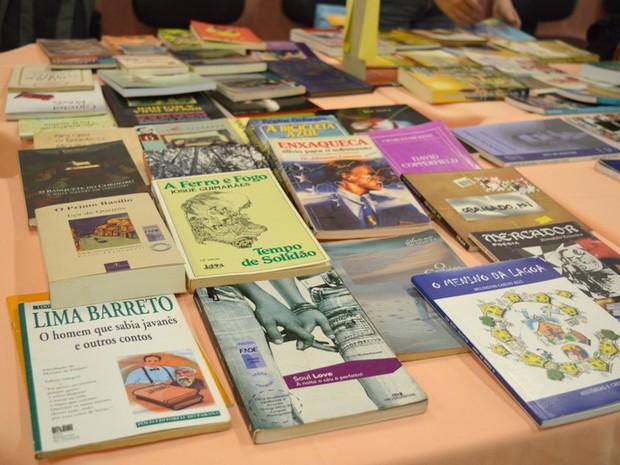 Livros e Gibis poderão ser trocados durante Feira (Foto: Divulgação/ Ascom Sesc)
