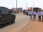 Alunos fazem protesto contra a PEC do teto de gastos em Vilhena, RO