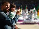 Piqué está no Brasil para assistir à final da Copa do Mundo