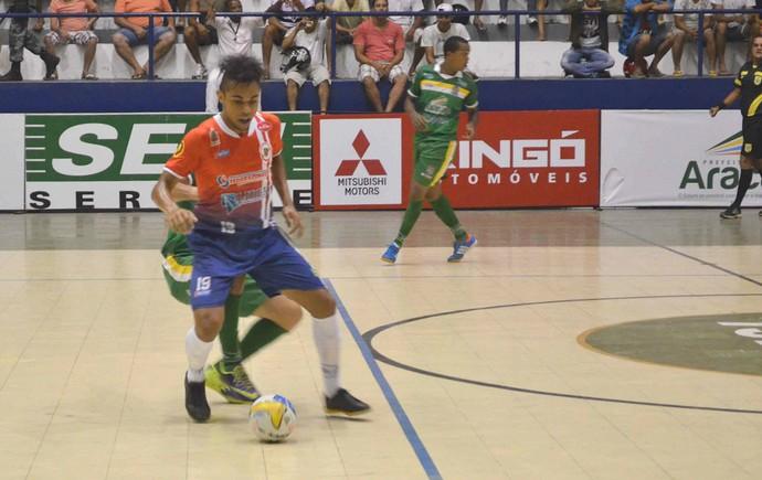 Aracaju x Canindé (Foto: João Áquila / GLOBOESPORTE.COM)