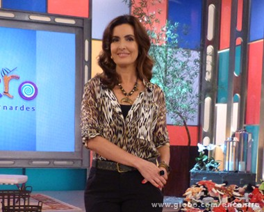Fátima Bernardes destaque (Foto: Encontro com Fátima Bernardes/ TV Globo)