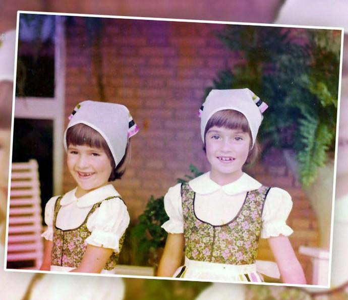 Astrid sempre cuidou de Ingrid (Foto: TV Globo)