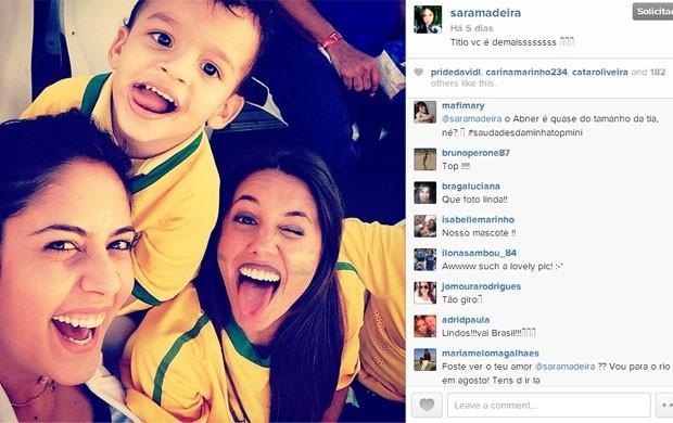 Sara Madeira (Foto: Reprodução/Instagram)
