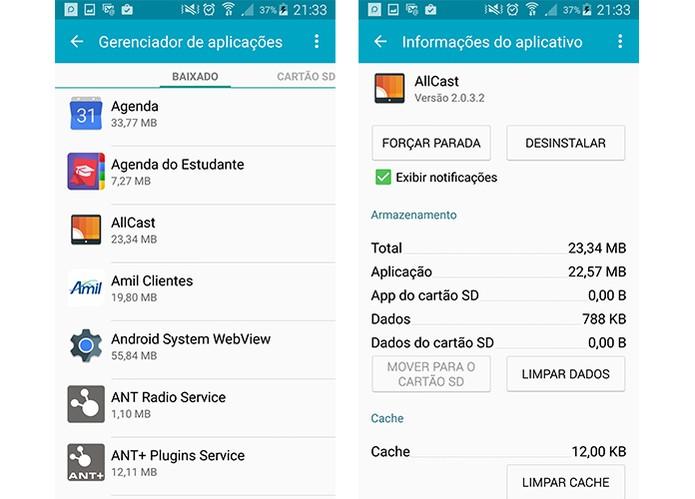 Desinstale apps no Android (Foto: Reprodução/Barbara Mannara)