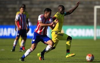 Colômbia arranca empate com Paraguai na abertura do Sul-Americano