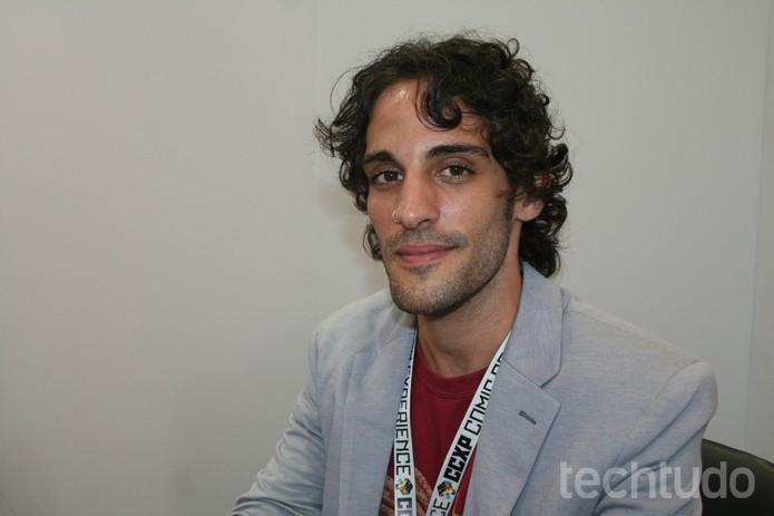 Fernando Giovanetti, representante da Level Up Games, responsável pelo Smite no Brasil (Foto: Felipe Vinha/TechTudo)