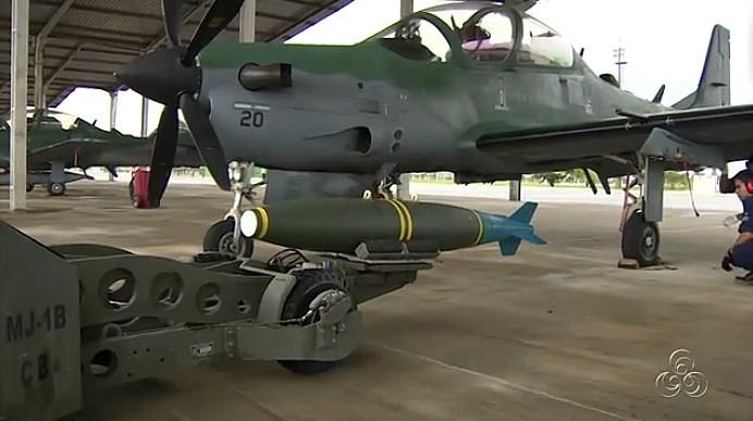 Operação Ágata 4 reúne militares para a destruição de pistas clandestinas na Amazônia (Foto: Bom dia Amazônia)
