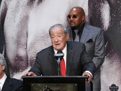 Bob Arum, coletiva Pacquiao, boxe (Foto: Evelyn Rodrigues)