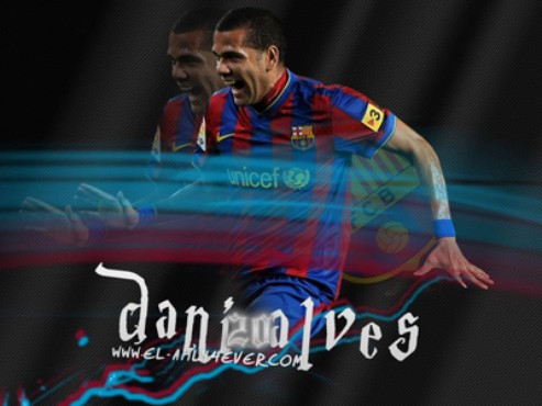 screenshot de Papel de Parede: Daniel Alves
