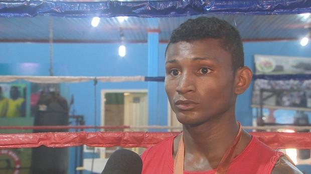 Juscelino Pantoja, boxe, amapá, bom dia amazônia (Foto: Bom Dia Amazônia)