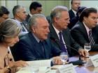 Chefes dos poderes discutem segurança pública em reunião