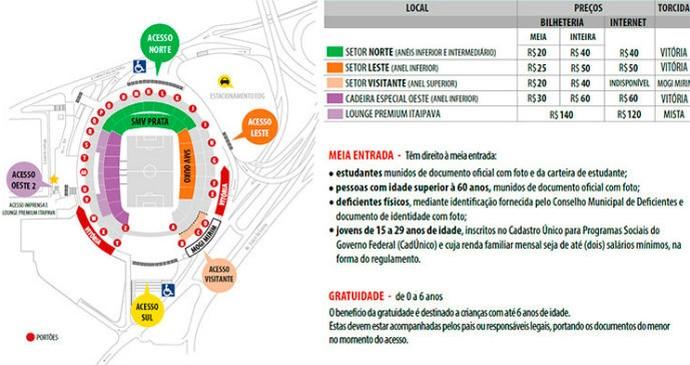 Vitória ingressos Fonte Nova (Foto: Divulgação)