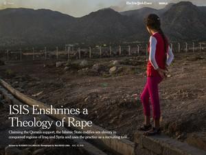 Reportagem traz depoimentos de meninas e mulheres capturadas pelo Estado Islâmico e vendidas como escravas sexuais