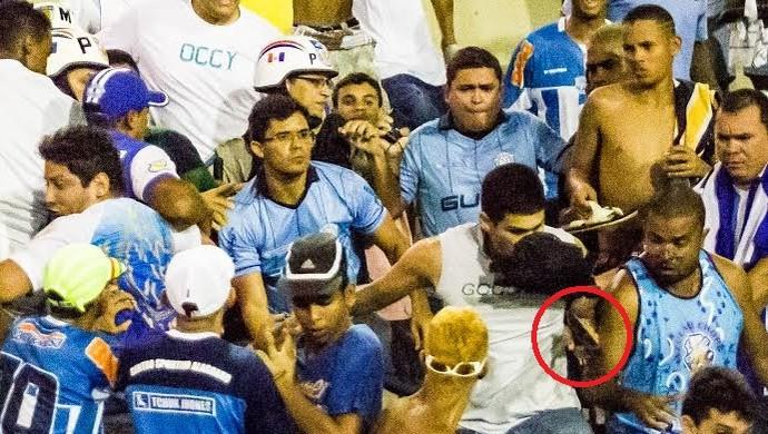 CSA x CRB confusão (Foto: GloboEsporte.com)