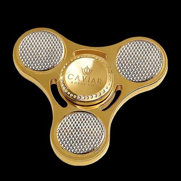 Spinner de ouro da 'Caviar' (Foto: Reprodução)