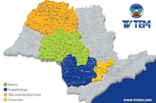 Mapa dpto comercial (Foto: Arte TV TEM)
