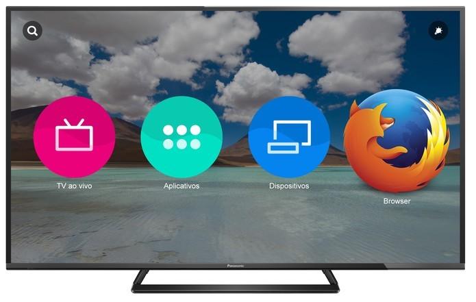 Smart TV da Panasonic é integrada com sistema Firefox OS (Foto: Divulgação/Panasonic)