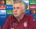 """Ancelotti espera ter Douglas Costa de volta em 18 dias: """"Precisamos dele"""""""