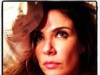 Luciana Gimenez tem insônia e posta foto com olhos marejados