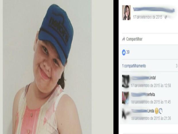 Adolescente de 14 anos morreu depois de receber choque elétrico quando alisava o cabelo (Foto: Reprodução / Facebook)
