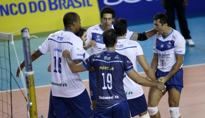 Minas x São José - Superliga masculina de vôlei (Foto: Orlando Bento / Minas Tênis Clube)