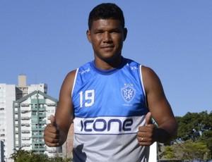 Ronaldo Capixaba, atacante do Vitória-ES (Foto: Eduardo Dias/A Gazeta)