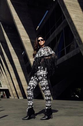Carol Castro posa para o EGO (Foto: Marcos Serra Lima / EGO)