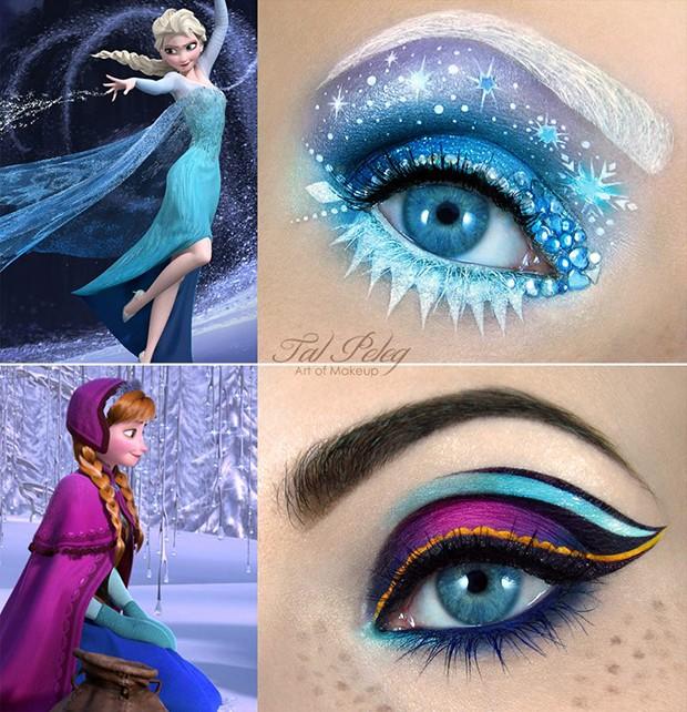 """Inspirações nas personagens do filme da Disney """"O Reino Congelado"""" (Foto: Reprodução/Tal Peleg)"""