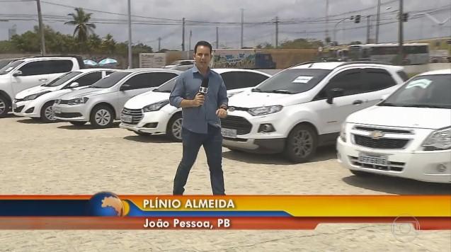 Reportagem de Plínio Almeida explicou que os bandidos entregavam os carros roubados nos estados vizinhos por valores entre de R$ 2 mil a R$ 5 mil (Foto: Reprodução)