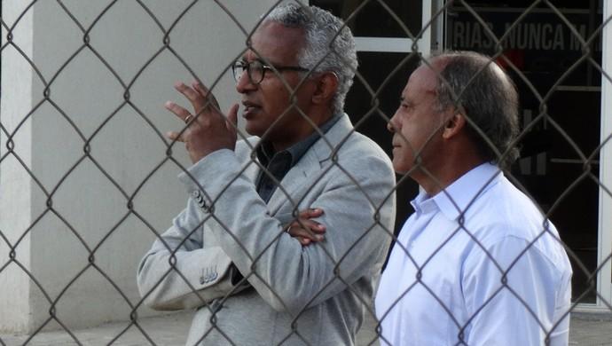 Isaías Tinoco e Dirceu Lopes Cruzeiro (Foto: Marco Astoni)