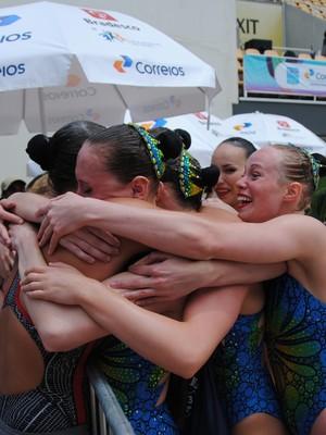 Canadá nado sincronizado evento-teste (Foto: João Gabriel Rodrigues )
