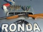 PM prende no CE homem suspeito de agredir mulher e apreende 2 armas