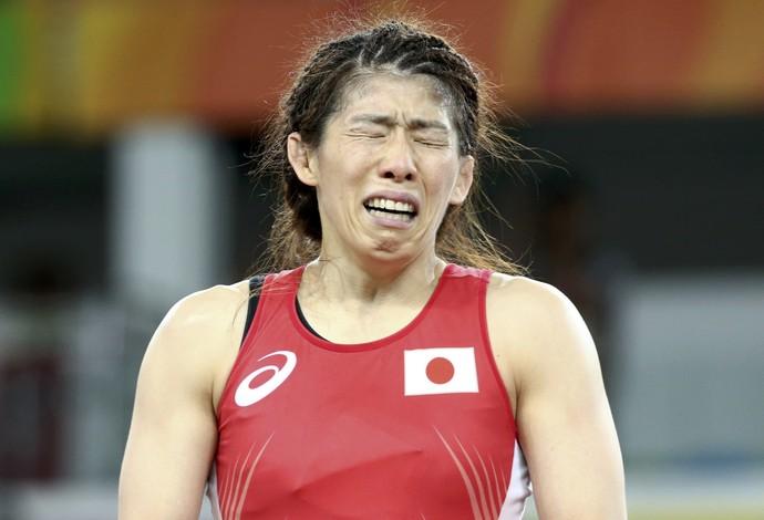 Saori Yoshida prata luta olímpica Rio 2016 (Foto: Reuters)