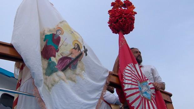 O Meu Paraná deste sábado (9) falou sobre a Folia do Divino  (Foto:  Reprodução/RPC)