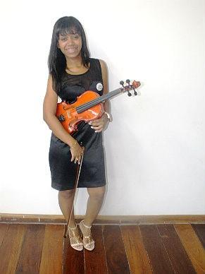 Samanta Neri - Orquestra AfroReggae (Foto: Divulgação)
