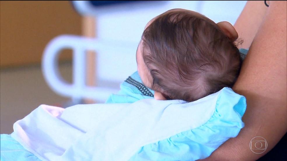 Vírus causa malformações em bebês, como a microcefalia (Foto: Rede Globo)
