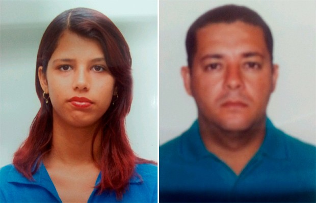Carolinne Mayara Barbosa das Neves e  Juano Moisés da Silva Mota são procurados pela polícia (Foto: Divulgação/Polícia Civil do RN)