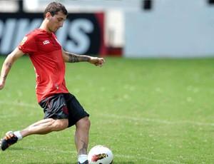 Bottinelli no treino do Flamengo (Foto: Luiz Pires / VIPCOMM)