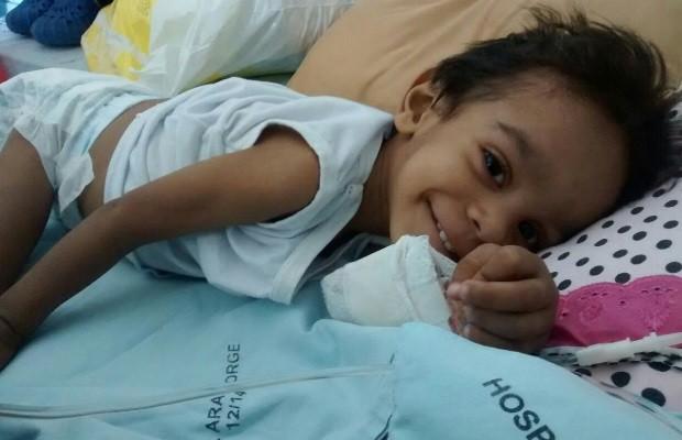 Justiça ordena transferência de bebê David Lima de Sousa de 2 anos e 5,3 kg para terapia em Goiás (Foto: Arquivo pessoal)