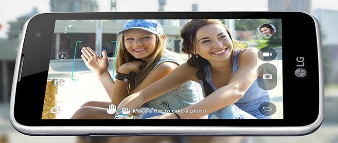 LG K4 vem com tela de 4,5 polegadas e câmera de 5 MP (Foto: Divulgação/LG)