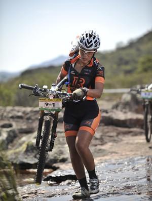 Adriana Nascimento mountain bike ciclismo Rocky Man (Foto: Ivan Padovani)