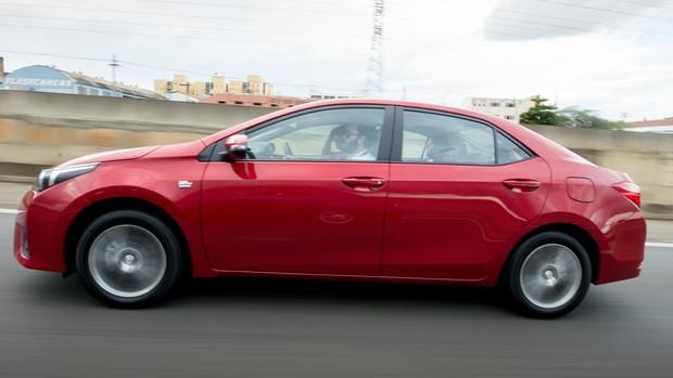 FOTOS: novo Toyota Corolla é lançado no Brasil