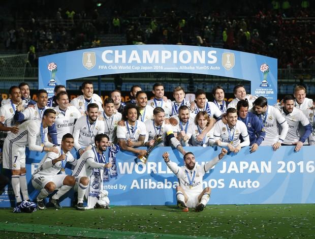 Real Madrid campeão Mundial de Clubes 2016