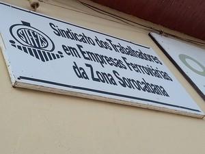 João é membro do sindicato que representa os ferroviários em Presidente Prudente (Foto: Stephanie Fonseca/G1)
