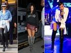 No dia em que Rihanna completa 25 anos, confira as dez tendências de moda mais usadas pela cantora